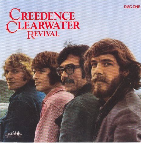 Creedence Clearwater Revival disc cover.